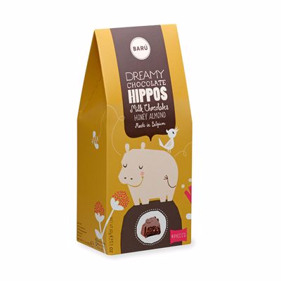 Honey Almond Hippos